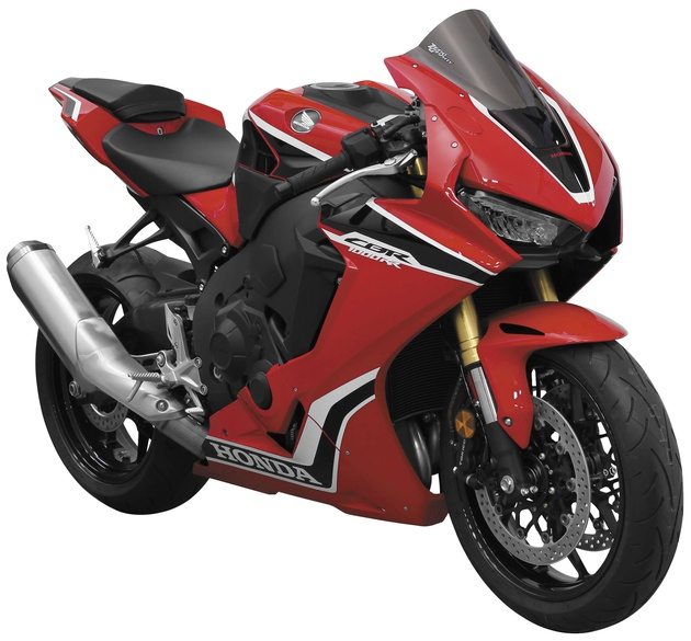 Dark Smoke ZERO GRAVITY 17-19 Honda CBR1000RR SR Series Windscreen
