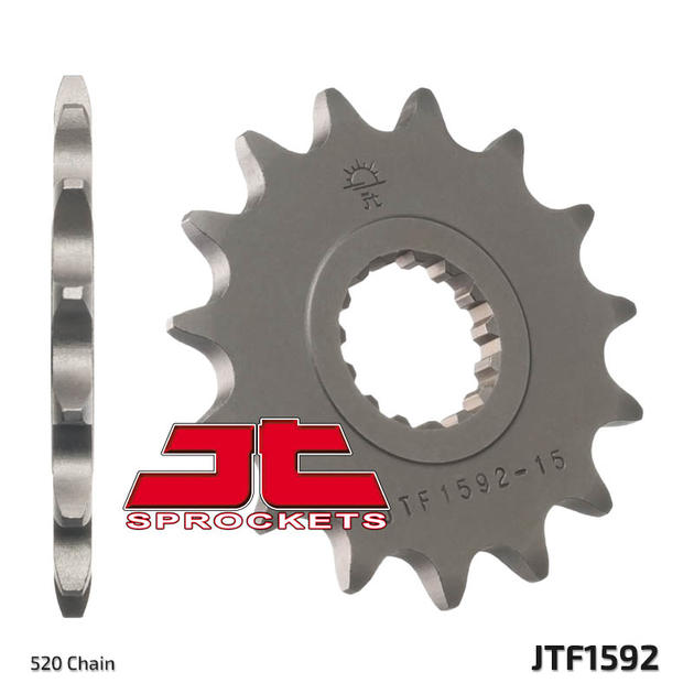 JT Front Sprocket 14T 520 Pitch JTF1322.14 Honda TRX 400 EX FourTrax 2000