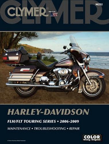 clymer shop repair manual harley davidson fltr road glide 2007 2009 rh ebay com 2008 Road Glide 2008 Road Glide