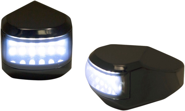 Alloy Art Smoked lens//Amber LEDs SGFS-2 LED Front Signal Lights pair