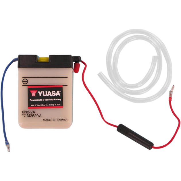 Yuasa 6N2-2A  6V Conventional Battery NO ACID  YUAM2620A