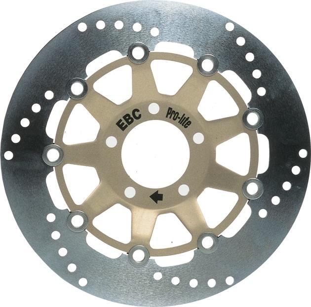 BikeMaster Rear Brake Rotor for Honda ST1300 2002-2013